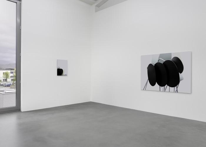 """exhibition view """"Unbestimmtheitsstellen – zur Genese des photographischen Bildes"""", 22th April – 23rd September 2012, Kunstraum Alexander Bürkle, Freiburg/Breisgau (photos: Bernhard Strauss)"""